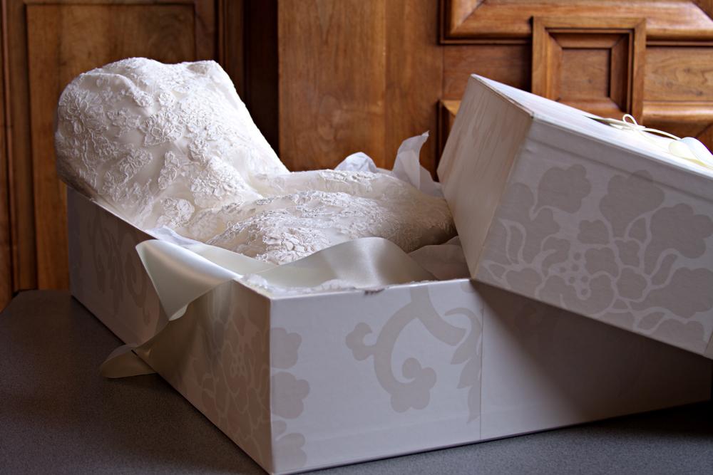 caja para guardar el vestido de novia – vestidos de mujer